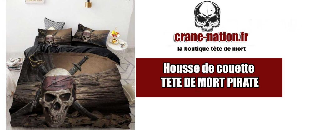 housse couette pirate 1